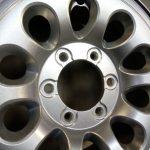 cerchio grigio metallizzato