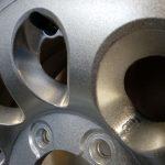 cerchio grigio metalizzato